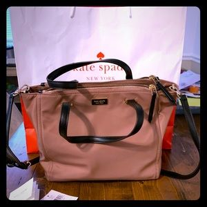 KS Medium Satchel Dawn In Sparrow